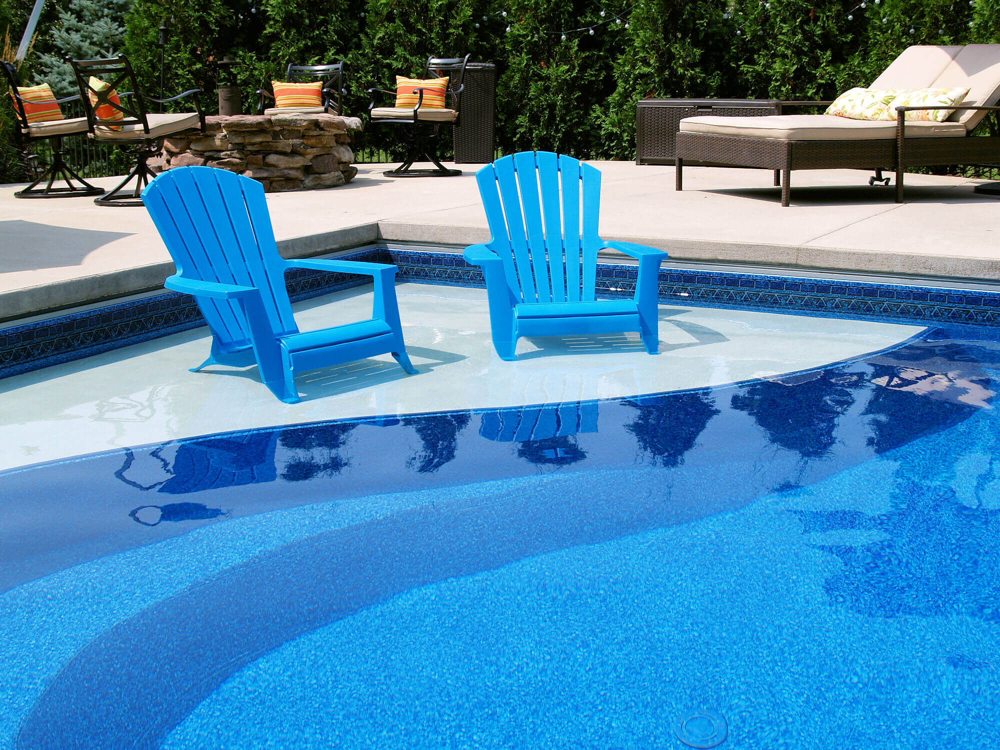 Enjoy the sun from your custom swim platform 82 - Swimming pool loans interest rates ...