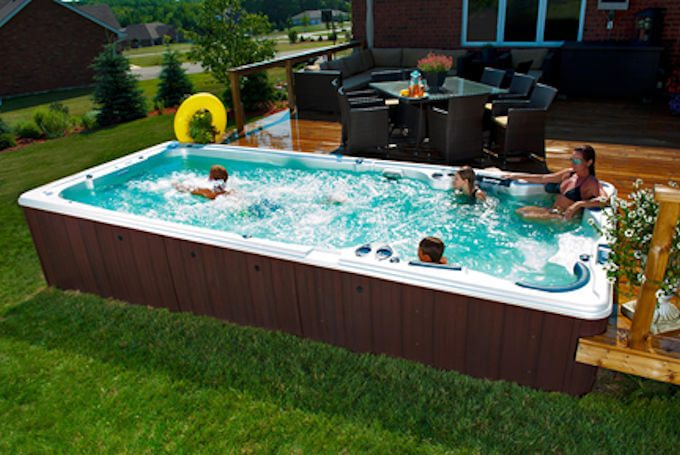 Enjoy an endless summer with hydropool swim spas - Endless pools swim spa owner s manual ...