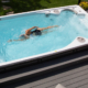 Swim Spas Provide Year-Round Fitness